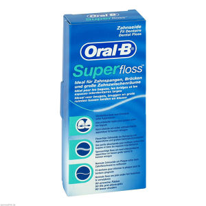 ORAL-B Zahnseide SuperFloss